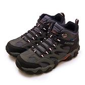 LIKA夢 LOTTO 專業多功能防水郊山戶外健行登山鞋 REX ULTRA系列 灰黑 2768 男