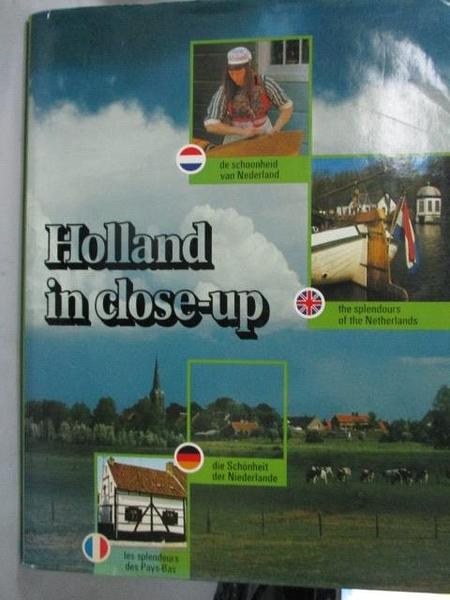 【書寶二手書T5/地理_WDW】Holland in close-up_Kees Scherer