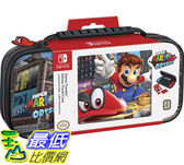 [107美國直購] Nintendo Switch Game Traveler Deluxe System Case - Mario Odyssey