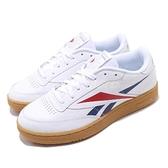 Reebok 休閒鞋 Club C 85 MU 白 紅 男鞋 運動鞋 【ACS】 EF8841