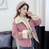 短版外套 加絨棉衣棉服冬季外套女裝棉襖冬裝2019年新款潮設計感原宿港風女