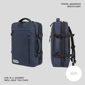 【OUTDOOR】悠遊寰旅-全開式收納後背包 17吋筆電包