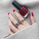 s925純銀戒指日韓潮人學生創意開口簡約個性清新復古寬版食指環女     易家樂