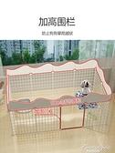 寵物圍欄狗狗室內狗籠子中小型犬泰迪柯基隔離門護欄自由組合柵欄 果果輕時尚