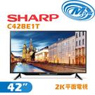 《麥士音響》 SHARP夏普 42吋 2K電視 C42BE1T