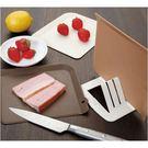 廚房妙工具-日本製 抗菌小巧砧板3入(含支架)