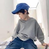 男童衛衣秋韓版潮童秋裝男孩中大童秋款上衣【聚可愛】
