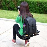 佳能小型雙肩攝影包輕便相機包6d2 77d 700d 5d3 80D 5DS單反背包 印象家品旗艦店