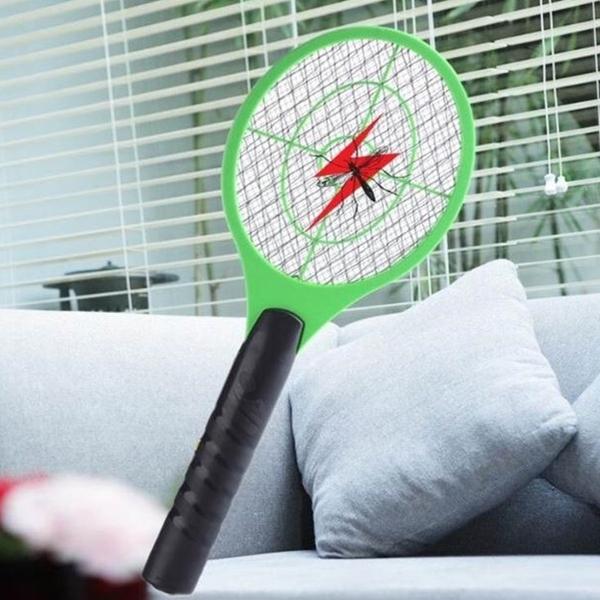 [拉拉百貨]電蚊拍 電池式  新款超強電力 安全三層網