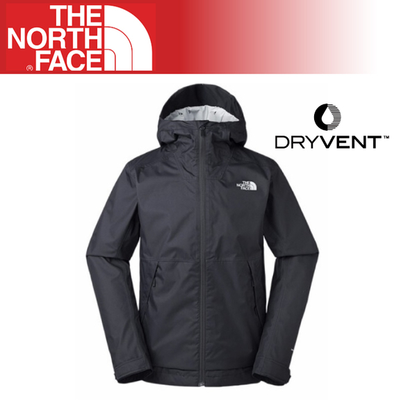 【The North Face 男 DryVent 防水外套《黑》】3VPK/運動版型/登山/健行/防潑水