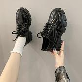 娃娃鞋 小皮鞋日系女jk2021新款春季韓版松糕厚底百搭英倫風學生黑色單鞋