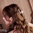 髮飾 珍珠鯊魚髮夾-Ruby s 露比午茶