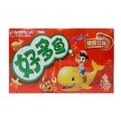 好麗友好多魚餅乾-烤蝦30g/3盒【合迷雅好物超級商城】