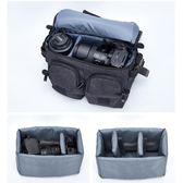 相機包 國家地理單肩數碼相機包專業單反攝影包復古帆布多功能防水便攜包