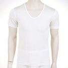 【碧多妮】純蠶絲男性圓領短袖衛生衣(D8001)