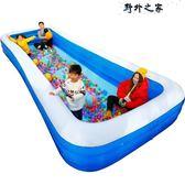 游泳池 超大號3.05米成人游泳池家用加厚寶寶水上樂園泳池家庭充氣水池 全館免運DF