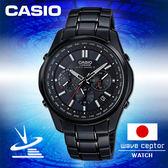 CASIO卡西歐 手錶專賣店 男錶 G-SHOCK LIW-M610DB-1AJF  男錶 電波錶 日系 黑 三眼 太陽能 IP黑不鏽鋼錶帶