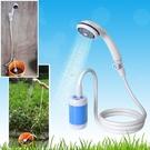 學生宿舍戶外租房寢室家用農村便攜抽水花灑簡易電動淋浴器快速出貨