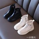 新款女童馬丁靴2021夏季鏤空網面透氣單靴韓版中大童百搭洋氣靴子 一米陽光