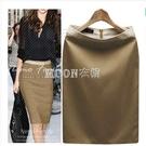新款西裝裙a字半身裙夏季職業工裝一步裙包臀短裙修身顯瘦百搭女 新年禮物