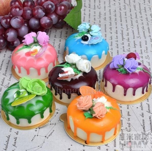 [協貿國際]仿真PU慕斯小蛋糕裝飾