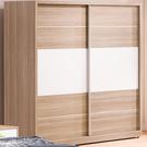 衣櫃 衣櫥 FB-012-1 肯詩特烤白雙色7尺推門衣櫥【大眾家居舘】