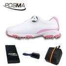 高爾夫球鞋 女士運動鞋 golf 防滑防水鞋 旋扣鞋帶球鞋 GSH115WPNK