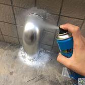 鍍鉻自噴漆不銹鋼專用鍍鉻噴漆鍍鋅手噴漆電鍍防銹自動噴漆igo 都市時尚