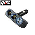 充電器 日本YAC 4.8A調整型雙孔雙USB插座(PZ-710)【亞克】