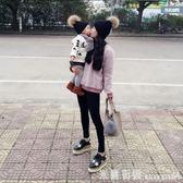 兒童帽 寶寶帽子秋冬毛球針織帽韓版兒童毛線帽嬰兒帽子大球套頭帽親子帽 米蘭街頭
