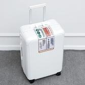 行李箱外貿出口日本超輕拉鏈拉桿箱萬向輪行李箱潮男網紅拉桿箱女旅行箱