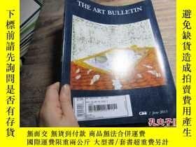 二手書博民逛書店the罕見art bulletin -new york 2013