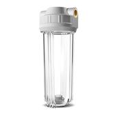 凈水器過濾器10寸2分4分口濾瓶銅口透明濾瓶濾殼PP棉前置過濾筒 淇朵市集