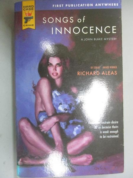 【書寶二手書T2/原文小說_GGR】Songs of Innocence_Aleas, Richard