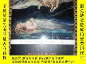二手書博民逛書店William罕見Blake Selected Poems(英國