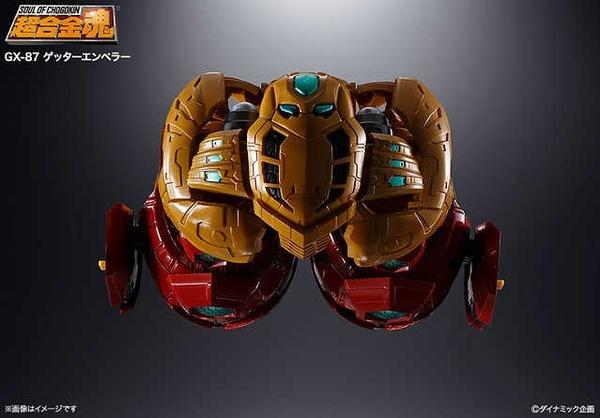 BANDAI 萬代 超合金魂 GX-87 真蓋特機器人 ゲッターエンペラー 蓋特皇帝