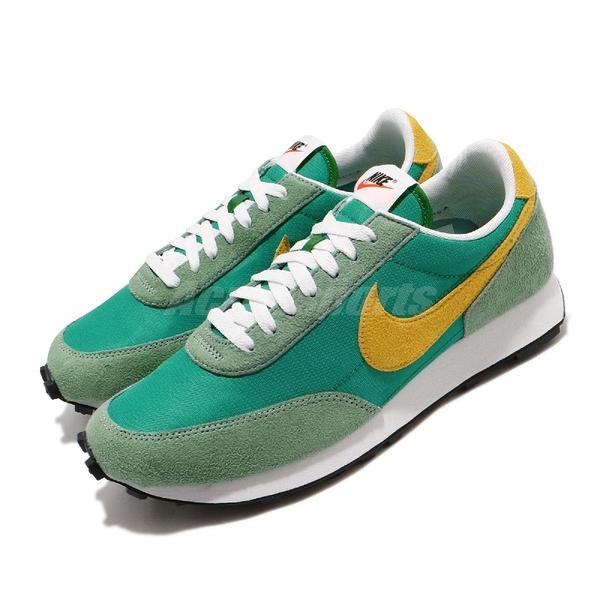 Nike 休閒鞋 Daybreak SP 綠 黃 男鞋 麂皮 復古設計 運動鞋 【ACS】 DA0824-300