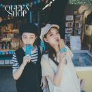 Queen Shop【01084936】配色車線雙口袋背心洋裝 兩色售*現+預*