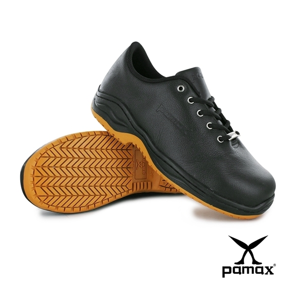 PAMAX帕瑪斯【超彈力氣墊、鋼頭安全鞋】休閒止滑鞋、銀纖維抗臭鞋墊 ※ PA7702H男女