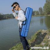 漁具包硬殼1.2米80cm海竿包防水抗壓釣魚竿包漁具箱igo 晶彩生活