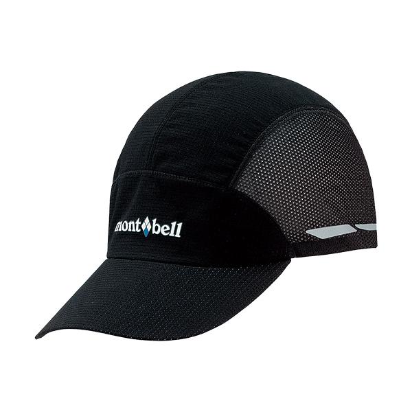 [Mont-Bell] Light Weight Trail Cap 棒球帽 黑 (1118439-BK)