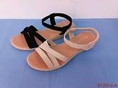 8125+2 愛麗絲的最愛 時尚首選 ~簡約設計百搭平底涼鞋/低跟涼鞋