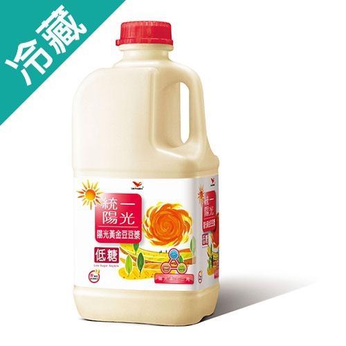 統一陽光低糖豆漿1858ml【愛買冷藏】