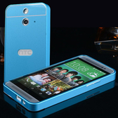 【清倉】HTC One M8 金屬邊框+壓克力背板二合一 宏達電 One M8 金屬殼 PC背蓋保護套 手機保護殼