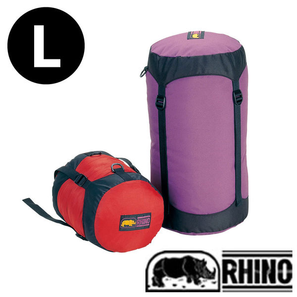 【Rhino 犀牛】睡袋壓縮袋 L 戶外 登山 露營 3901