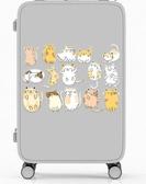 卡通貓手機貼行李箱貼紙