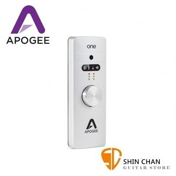 新版 Apogee ONE For Mac 頂級行動錄音介面(專為Mac打造)台灣公司貨 /總代理保固1年