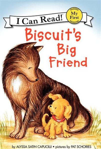 (二手書)An I Can Read My First I Can Read Book: Biscuit's Big Friend