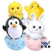 不倒翁玩具兒童大號娃娃嬰兒寶寶擺件手抓兒童創意玩具【古怪舍】
