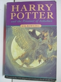 【書寶二手書T1/原文小說_AW7】Harry Potter and the Prisoner of Azkaban_JKRowling